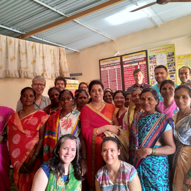 Meeting with Women Self Help Group