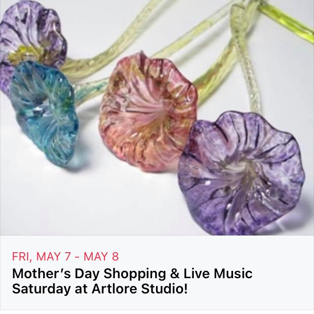 Mother's Day Weekend Shopping & Live Music at Artlore Studio!
