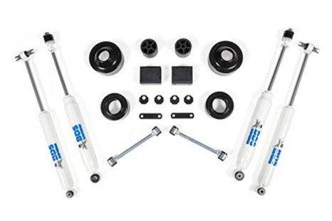 """2007-2011 2"""" Suspension Lift Kit - Wrangler JK 2dr"""