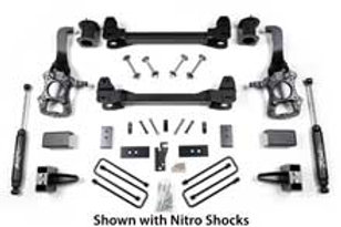 "2014 Ford F150 2WD 6"" Suspension System"