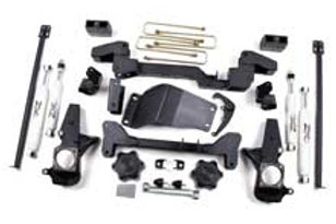"01-10 Chevy/GMC 4WD 6"" Suspension System"
