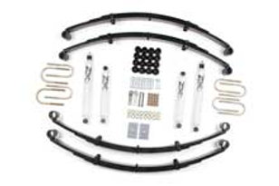 "87-95 Jeep Wrangler YJ 2"" Suspension System"