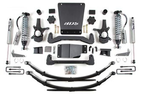 """BDS 6"""" Coil-Over Suspension System 2007-2013 4wd"""