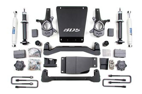 "BDS 4"" Suspension Lift Kit 2007-2013 4wd"