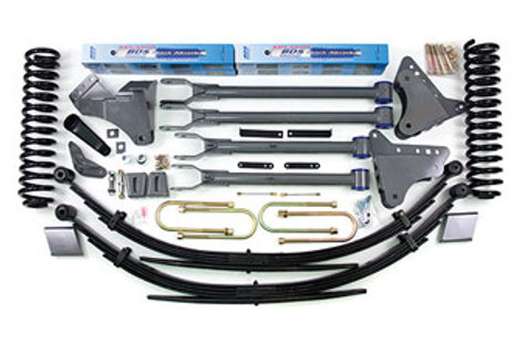 """2005-2007 Ford F250 6"""" 4-Link Lift Kit"""