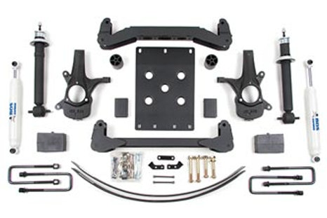 """2007-2013 4"""" Suspension System Chevy/GMC 2wd"""
