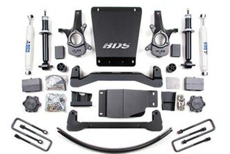 """BDS 6"""" Suspension Lift Kit - 2007-2013 4wd"""