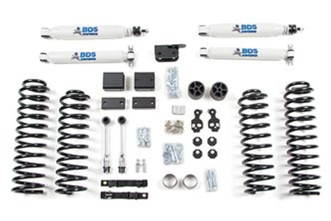 "2012-2016 3"" Suspension Lift Kit - Wrangler JK 4dr"