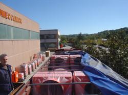 GS bioenergy hot air blower shipment