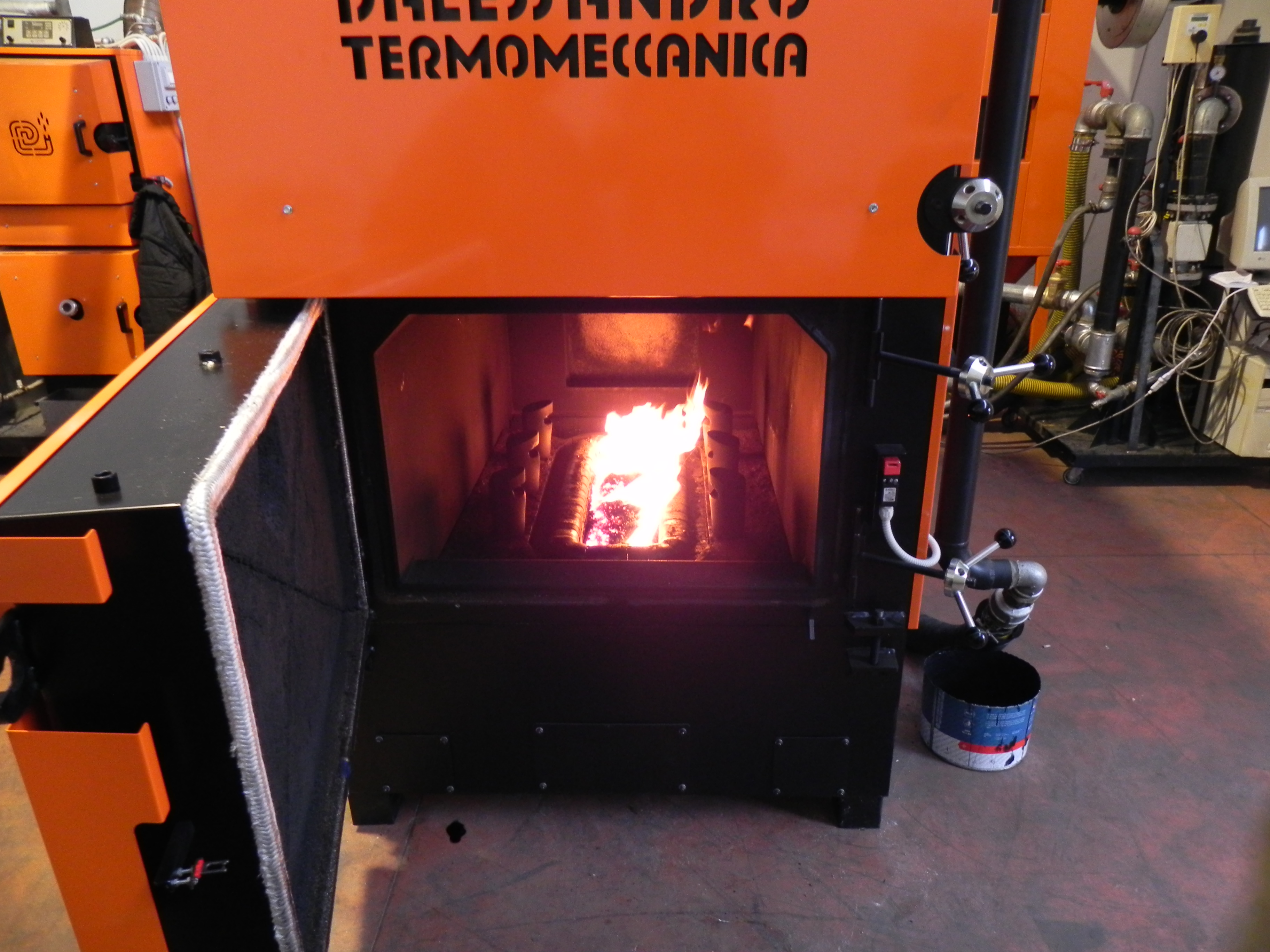 D'Alessandro biomass boiler energy