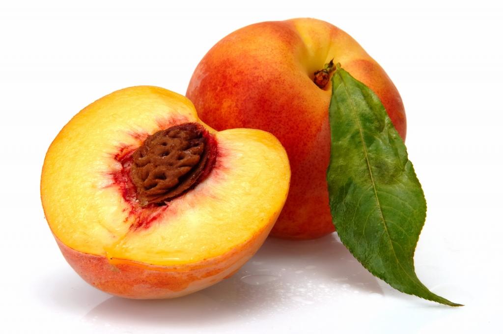 Peach stones