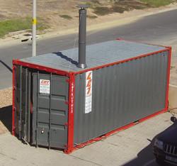 Bioenergy heat cabins