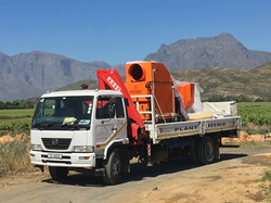 GS hot air blower delivery