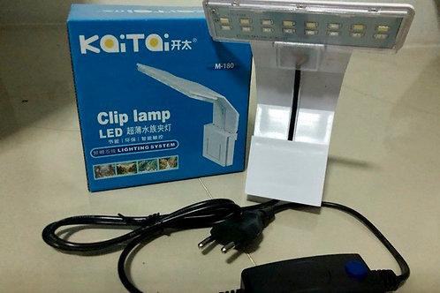 KaiTai LED CLIP LAMP ( M180 / WHITE )