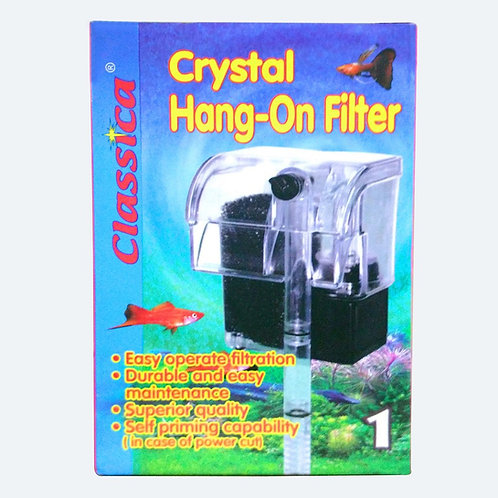 Classica Crystal Hang-on Filter 1