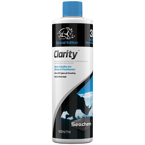 Seachem Clarity 250ml 30% MORE FREE ( 325ml )