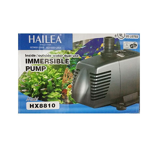 Hailea HX-8810 inside/outside water dual use immersible pump