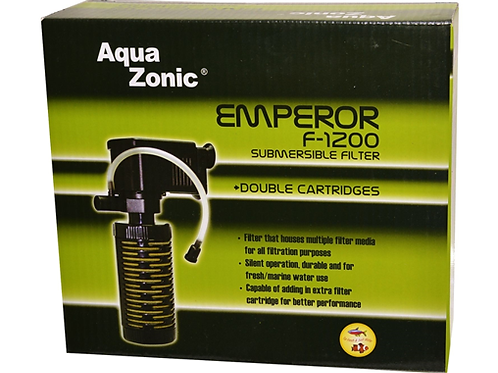 Aqua Zonic Emperor F-1200 Submersible Filter