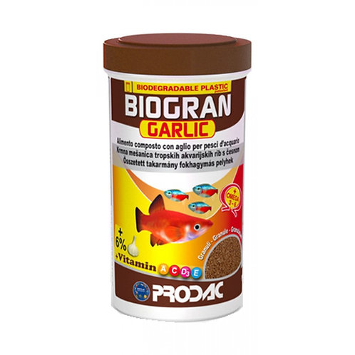 Prodac Biogran Garlic Plus Vitamin Fish Food 40g