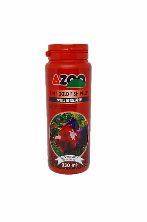 AZOO 9 IN 1 Goldfish Pellet4.