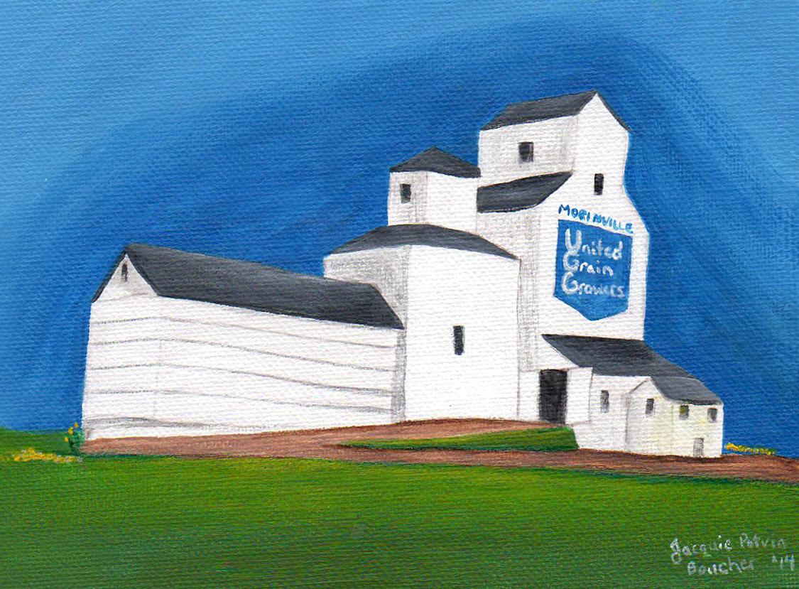 Morinville Grain elevator