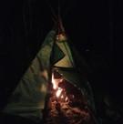 night tipi