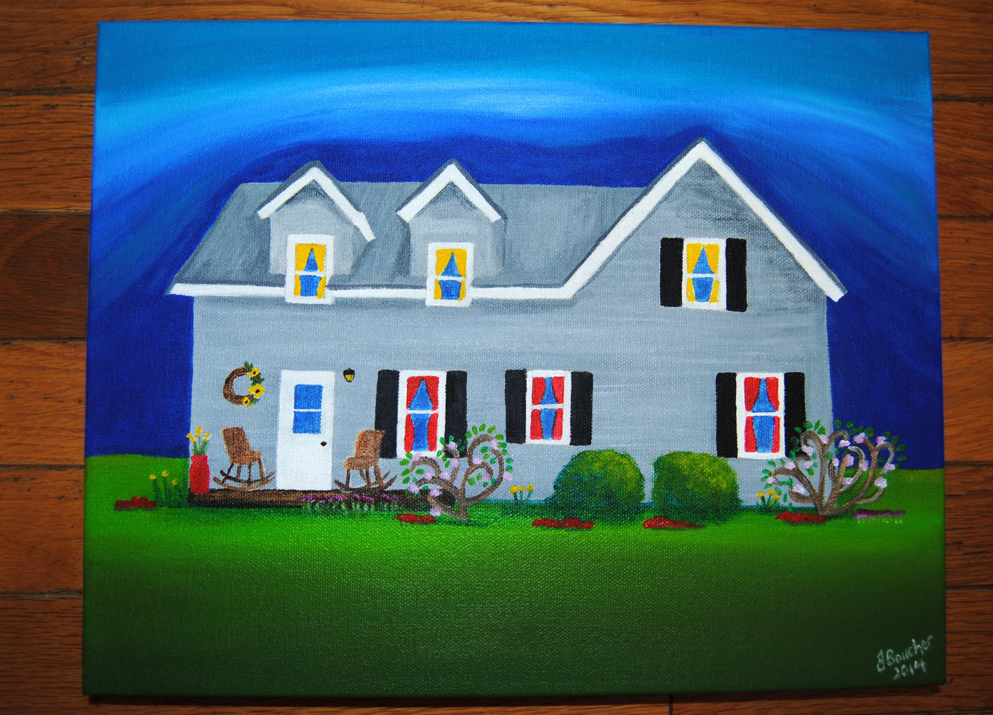 Erins house