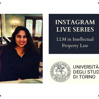Nidhi Jhawar on LLM in IP Law from WIPO & University of Turin