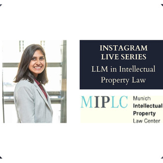Meenakshi Prasad on LLM in IP & Competition Law from Munich Intellectual Property Law Center