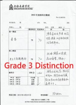 Grade 3 Distinction1