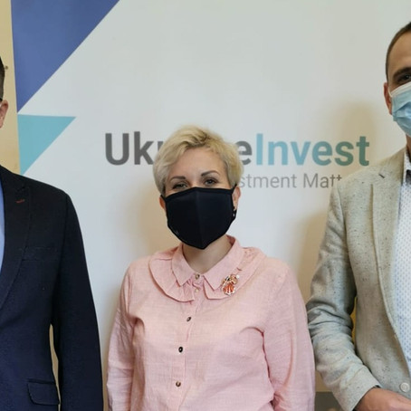 Meeting of the Association representatives with Serhiy Tsivkach, Executive Director of UkraineInvest