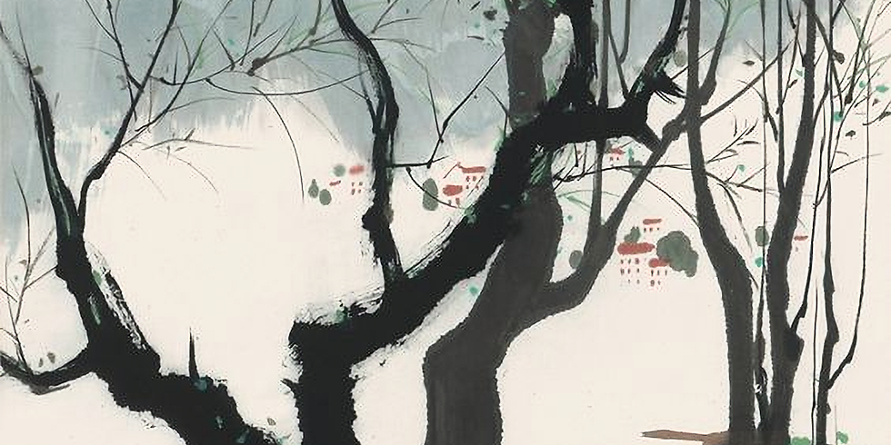 Asian Brush: Paint in the Style of Wu Guanzhong (Online Class)