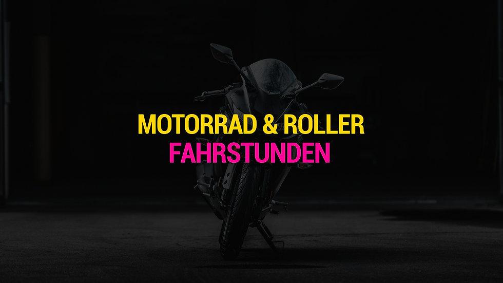 Motorrad & Roller Fahrstunden