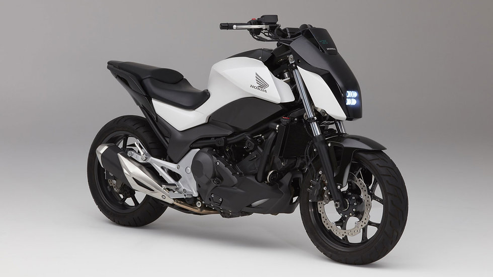 Neue Technik im Motorrad - autonomes Motorrad (Kat. A)