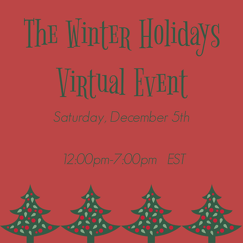 Winter Holiday Virtual Event