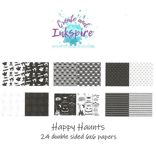 Happy Haunts Pattern Paper