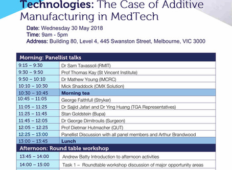 Adoption and Diffusion of Disruptive Technologies:  'The Case of Additive Manufacturing in MedTech'