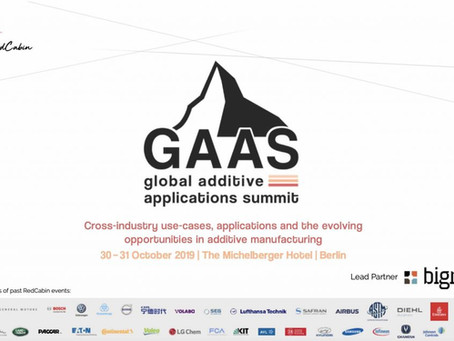 Global Additive Application Summit 2019