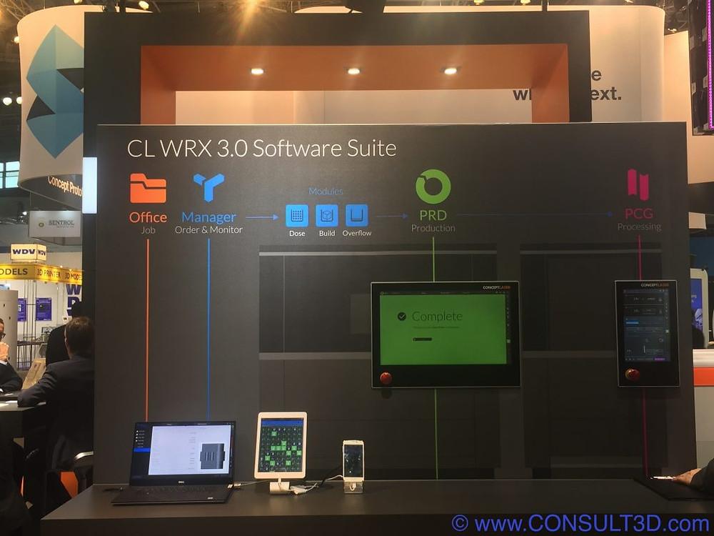 CL WRX 3.0 Software Suite
