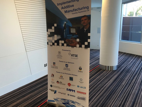'Implementing Additive Manufacturing' ATSE workshop [Adelaide – South Australia]