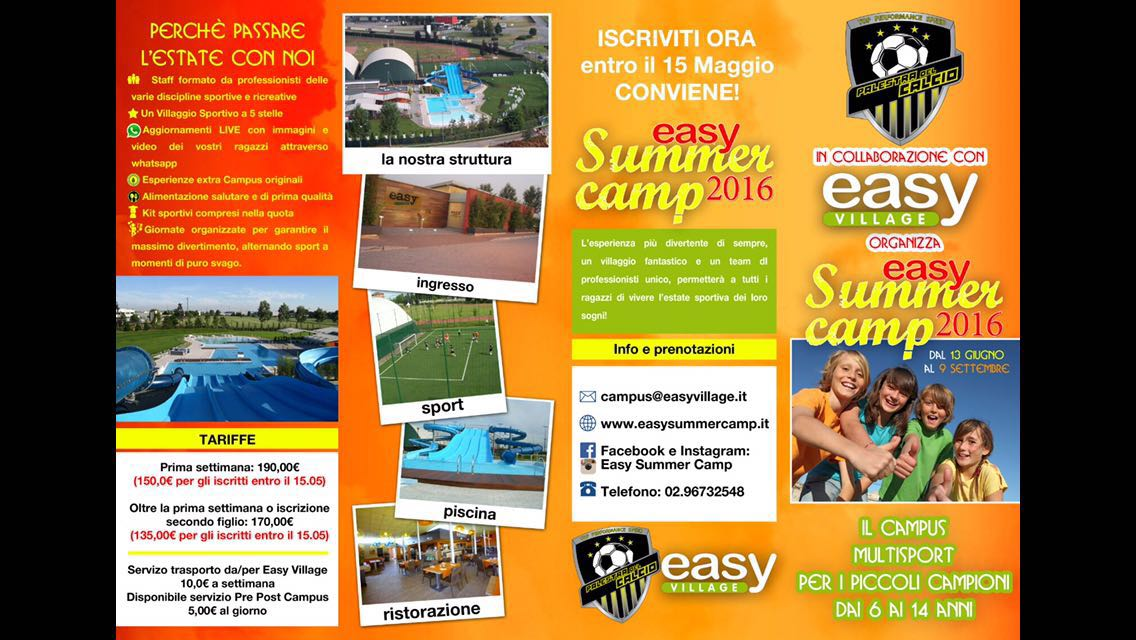 Easy Summer Camp