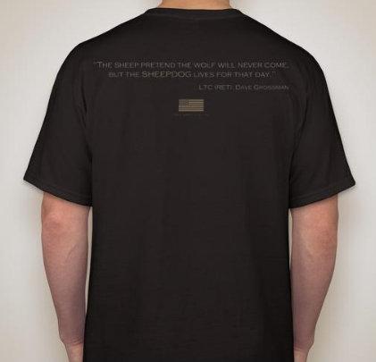 JWM Tactical Sheepdog T-Shirt (multiple colors)