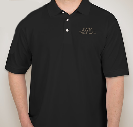 JWM Tactical Performance Polo (black only)