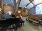 Mary Pinto at piano Opera at Florham 2021.JPG