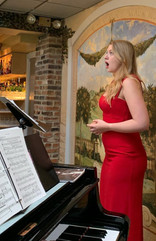 Soprano Amelia Bursche at Opera at Florham
