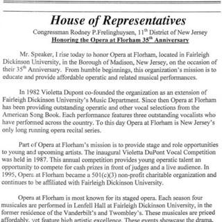 35th Anniversary NJ Proclamation Congres