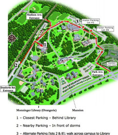 Map of FDU grounds