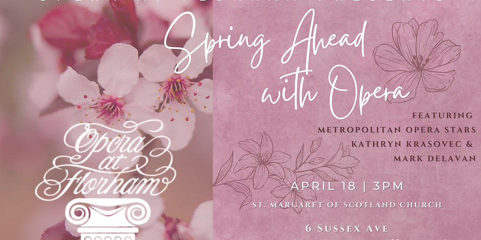 Spring Ahead to Opera with Our April Musicale
