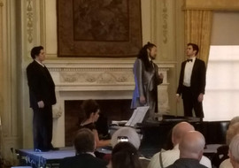 Schlick, Inoue and CIuffitelli at Opera at Florham