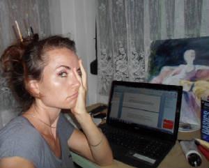 Ida Skjelbakken forfatterblogg